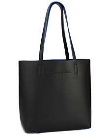 Receive a Complimentary Tote with any large spray from the Oscar Signature or Oscar Bella Blanca Fragrance Collection