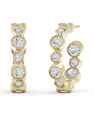 Forevermark Tribute Collection Diamond (1-1/4 ct. t.w.) Hoop Earrings in 18k Yellow