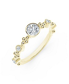 Tribute™ Collection Diamond (3/8 ct. t.w.) Ring in in 18k Yellow, White and Rose Gold Ring.