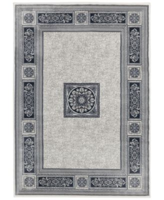 Sanford Milan Gray Rug Collection