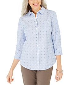 Cotton Printed Shirt, Created for Macy's