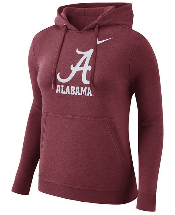 Nike Women's Alabama Crimson Tide Club Hooded Sweatshirt