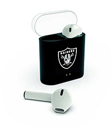 Prime Brands Oakland Raiders Wireless Earbuds
