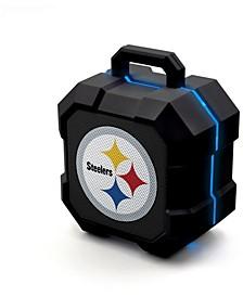 Prime Brands Pittsburgh Steelers Shockbox LED Speaker