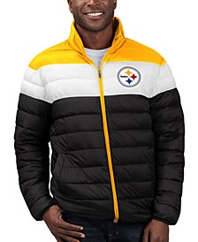 Men's Pittsburgh Steelers Cold Front Quilted Polyfill Jacket