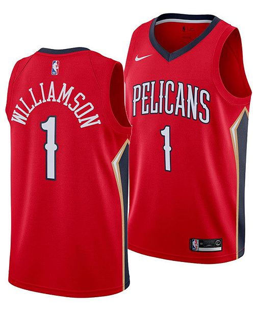 Nike Men's Zion Williamson New Orleans Pelicans Statement Swingman Jersey