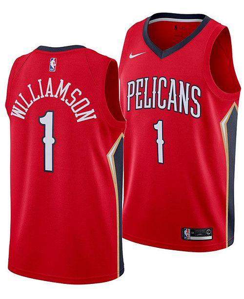 Men S Zion Williamson New Orleans Pelicans Statement Swingman Jersey