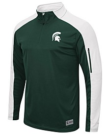 Men's Michigan State Spartans Apu Promo Quarter-Zip Pullover