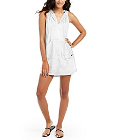 Hooded Dress Swim Cover-Up