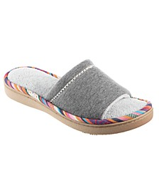 Isotoner Women's Jersey Becca Slide Slipper, Online Only