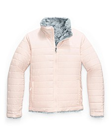 Little & Big Girls Reversible Mossbud Swirl Jacket