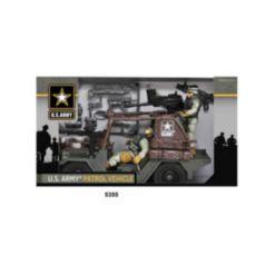 Excite U.s. Army Urban Patrol Vehicle Playset with Figures