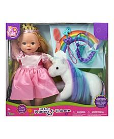 "Lil Tots Princess 14"" Doll Unicorn Play Set"