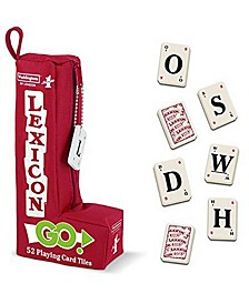 Waddington's Number 1 Lexicon Go Word Game - 52 Playing Card Tiles