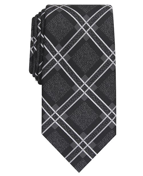 Perry Ellis Men's Denner Classic Plaid Tie