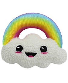 Plush Cloud Pet Rope Toy with Squeaker