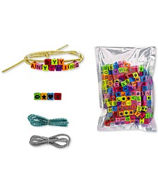 Tri-Color 3-Pc. Set Fabric Cord Do-It-Yourself Beaded Bracelets