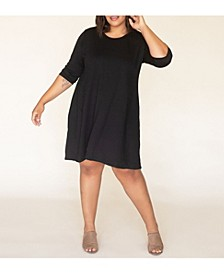 Women's Plus Size Signature French Terry Dress