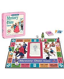 Mystery Date Tin Board Game Nostalgia Edition