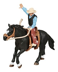 Farm World Rodeo Series Horse and Rider Toy Figure