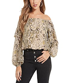 Kanelyn Off-The-Shoulder Top