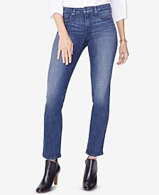 Sheri Tummy Control Straight-Leg Jeans