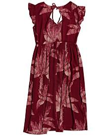 Juniors' Rush Minute Floral-Print Dress