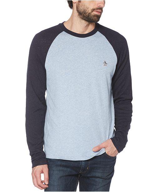 Original Penguin Men's Colorblocked Jacquard T-Shirt