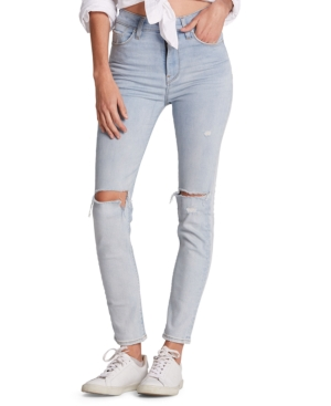Hudson Jeans Distressed Skinny Jeans
