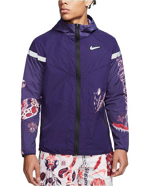 Nike Men's Windrunner Graphic Running Jacket