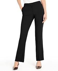 Slit-Hem Boot-Cut Pants, Created for Macy's