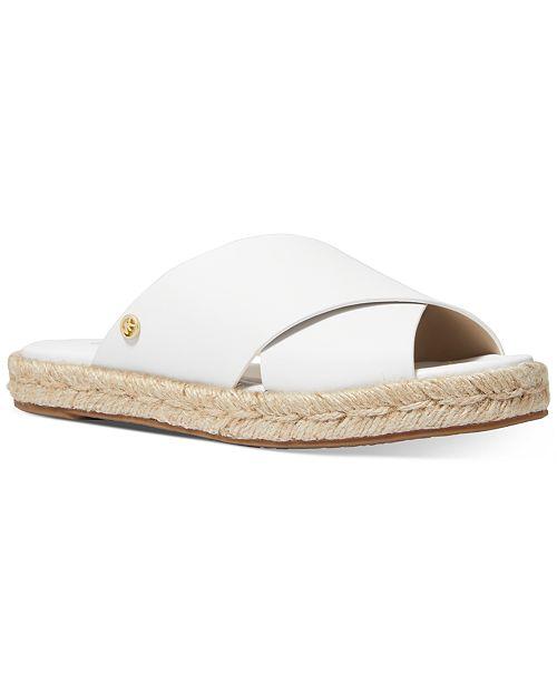 Michael Kors Linden Slide Flat Sandals
