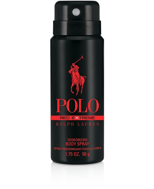 Ralph Lauren  Receive a Free Polo Red Extreme Body Spray 1.7oz with any $100 purchase from the Ralph Lauren men's fragrance collection