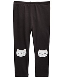 Baby Girls Cat Leggings, Created for Macy's