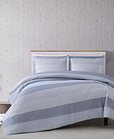 Multi Stripe Twin XL Duvet Set