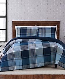 Trey Plaid King Comforter Set