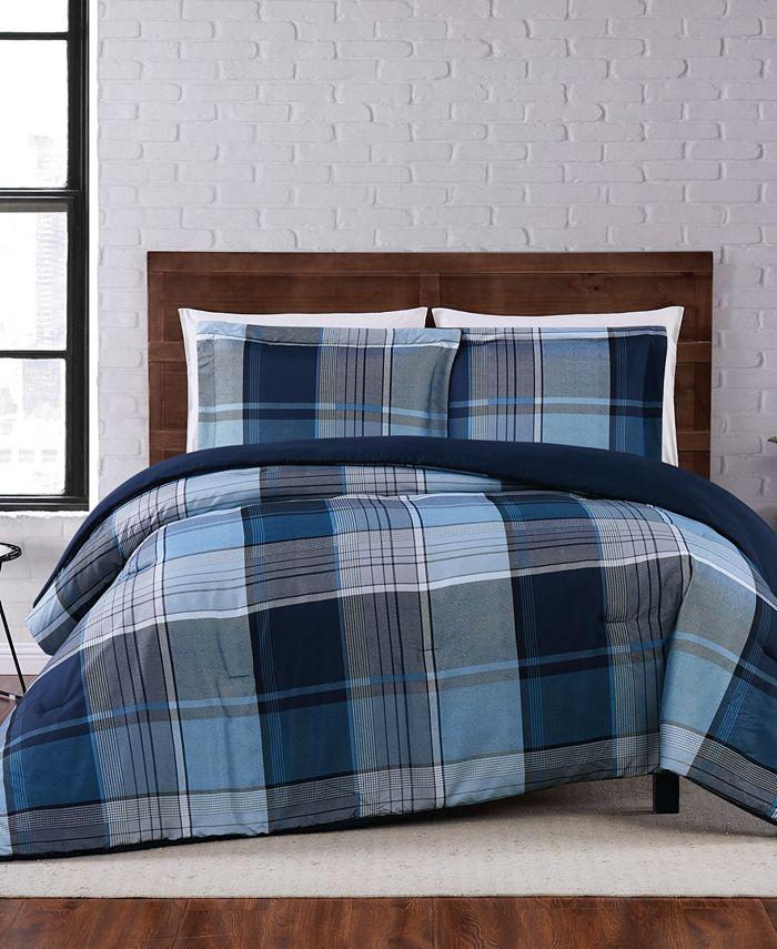 Truly Soft - Trey Plaid King Comforter Set