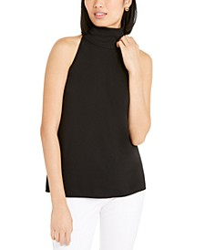 High-Neck Sleeveless Top, Created for Macy's