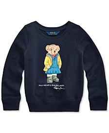 Toddler Girls Bear Terry Pullover
