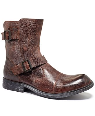 Kenneth Cole Reaction Work Week Double Buckle Boots