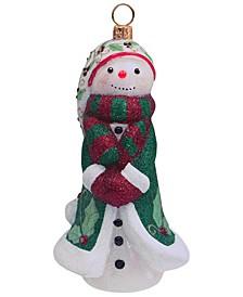 Glitterazzi Schmoowman Holly Berry Ornament