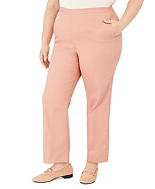 Plus Size Pearls of Wisdom Proportioned Pants