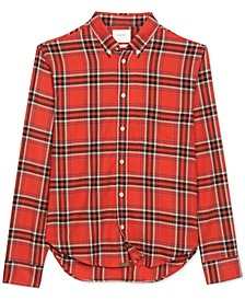 Men's Kirby Slim-Fit Plaid Shirt
