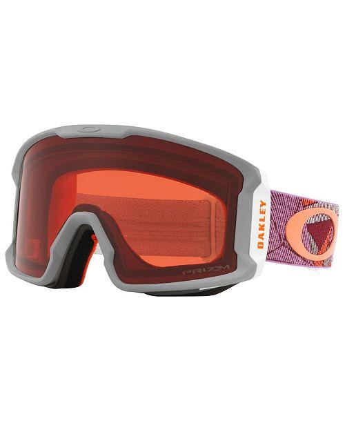 Oakley Unisex Line Miner Goggles Sunglasses