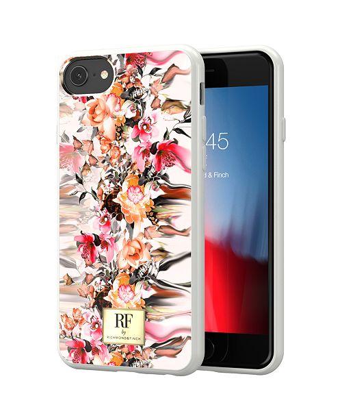 Richmond&Finch Marble Flower Case for iPhone 6/6s, 6/6s Plus, 7, 7 Plus, 8, 8 Plus, X, XS MAX