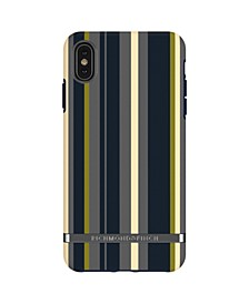 Navy Stripes Case for iPhone XS MAX