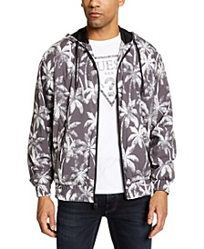 Men's Hooded Palm Tree Jacket