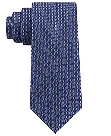 Men's Small Optical Geometric Tie