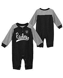 Baby Oakland Raiders Scrimmage Coverall