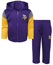 Toddlers Minnesota Vikings Blocker Fleece Set